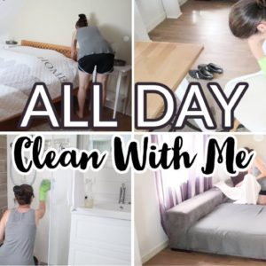 *NEW* ALL DAY CLEAN WITH ME | WHOLE HOUSE CLEANING MOTIVATION| LIVING ROOM UPDATES