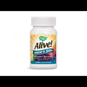 VITAMINS BEST Sellers for AMAZON Must See Review! Nature's Way Alive!® Men's Energy Multivitamin..