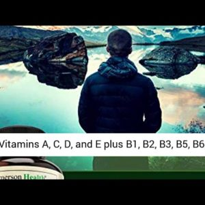 Men's Daily Multimineral/Multivitamin Supplement - Vitamins A C E D B1 B2 B3 B5 B6 B12. Magnesium,