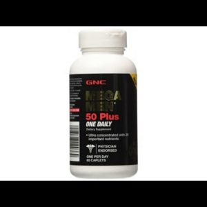 VITAMINS BEST Sellers for AMAZON Must See Review! GNC Mega Men 50 Plus One Daily Multivitamin wit..