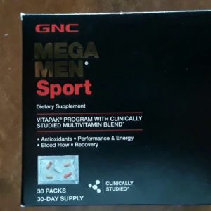 GNC Mega Men Sport | My Vitamins Arrived With The Quickness!!