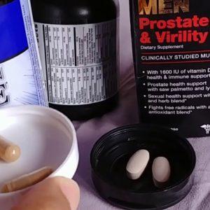 GNC Multi-Vitamins prostate virility vs Vitamin Code Men Vitamins