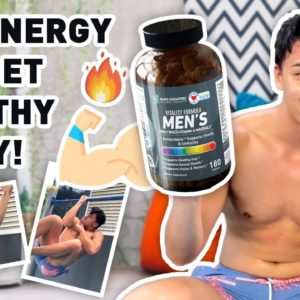 14-days with Nano Singapore's Vitality Formula Men's Multi-Vitamins (ft. Shaun Seow)
