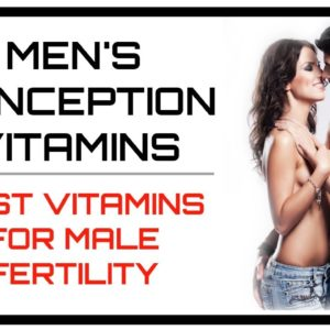 Mens Conception Vitamins | Best Multivitamin For Male Fertility