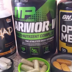 Multi-Vitamins: Opti-Men vs Armor-V vs Orange Triad