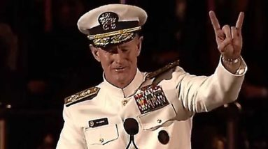 Admiral McRaven Leaves the Audience SPEECHLESS   One of the Best Motivational Speeches