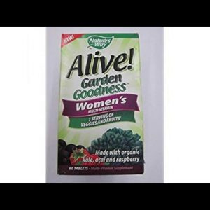 VITAMINS BEST Sellers for AMAZON Must See Review! Nature's Way Alive! Garden Goodness Women's Mul..