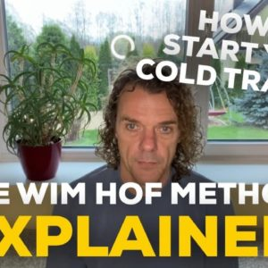 How Do You Start Your Cold Training | Wim Hof Method Explained | Living By The Sea