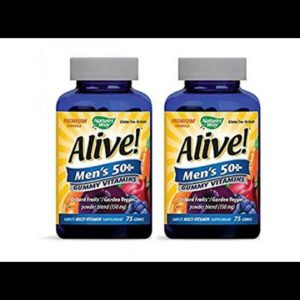 VITAMINS BEST Sellers for AMAZON Must See Review! Nature's Way Alive Once Daily Men's 50 Plus Mul..