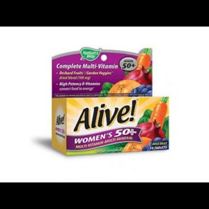 VITAMINS BEST Sellers for AMAZON Must See Review! Nature's Way - Alive! Womens 50+ Multivitamin &..
