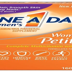 One A Day Womens Petites Multivitamin Supplement with Vitamins A C E Calcium Biotin and B-Vit