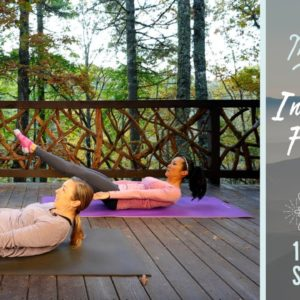 "Intermediate Pilates Full-Body Workout | ""The Mountains are Calling"" 10-Day Series - 8"