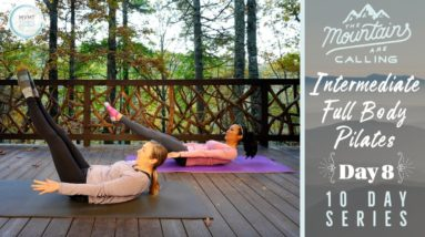 """Intermediate Pilates Full-Body Workout 