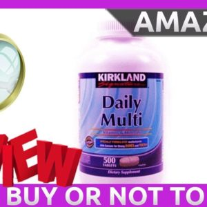 The Best Mens Multivitamin - Daily Multi Vitamins & Minerals 500 Review