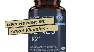 User Review: Mt. Angel Vitamins - Men's 50+ Multi