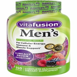 Vitafusion Men's Gummy Vitamins 150 Count Multivitamin for Men