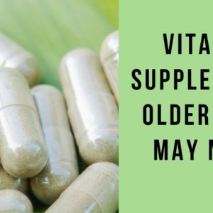 Vitamins For Men As You Get Older