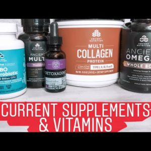 Vlogmas Day 1 | Current Supplements & Vitamins | Dr.Axe