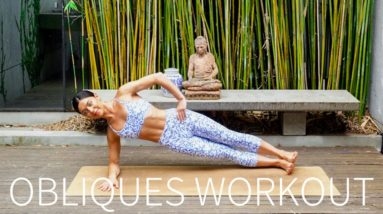 10 MIN SIDE ABS & OBLIQUES WORKOUT || At-Home Pilates