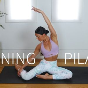 20 MIN MORNING PILATES || Full Body Workout