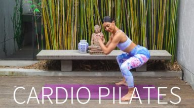 30 MIN CARDIO PILATES || At-Home Full Body Workout