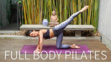 40 MIN FULL BODY WORKOUT || Intermediate Pilates Class