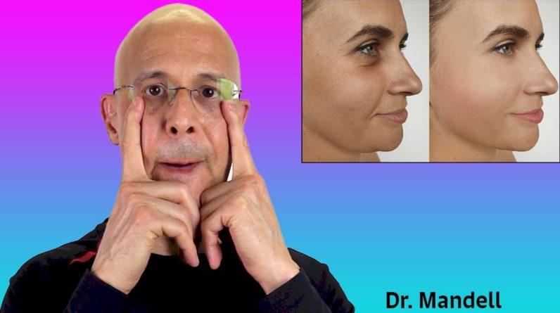 Face Yoga Workout...For Slimmer Face & Sculpted Cheekbones | Dr Alan Mandell, DC